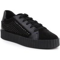 Skor Dam Sneakers Geox D Hidence Svarta