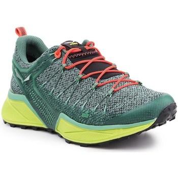 Skor Dam Sneakers Salewa WS Dropline Gröna
