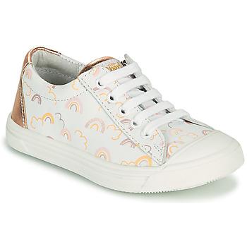 Skor Flickor Sneakers GBB MATIA Vit / Rosa
