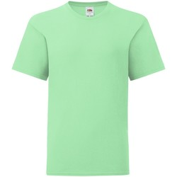 textil Barn T-shirts Fruit Of The Loom 61023 Neo Mint
