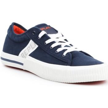 Skor Herr Sneakers Replay Kinard RV840015T-0040 navy , white
