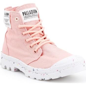 Skor Dam Höga sneakers Palladium Manufacture HI Organic W 96199-647-M pink