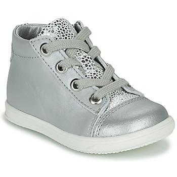 Skor Flickor Höga sneakers Little Mary VITAMINE Silver