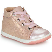Skor Flickor Höga sneakers Little Mary VITAMINE Rosa
