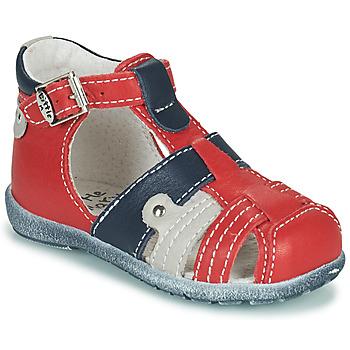 Skor Pojkar Sandaler Little Mary VERCORS Röd