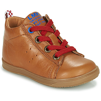 Skor Pojkar Höga sneakers Little Mary LEON Brun