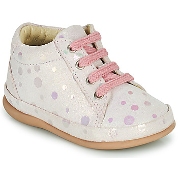 Skor Flickor Höga sneakers Little Mary GAMBARDE Rosa