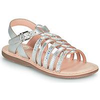 Skor Flickor Sandaler Little Mary BARBADE Silver
