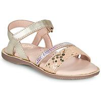 Skor Flickor Sandaler Little Mary DOLERON Guldfärgad