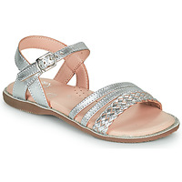 Skor Flickor Sandaler Little Mary LIME Silver