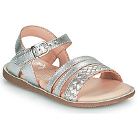 Skor Flickor Sandaler Little Mary LIME Silver