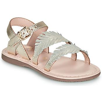 Skor Flickor Sandaler Little Mary LORETTE Guldfärgad