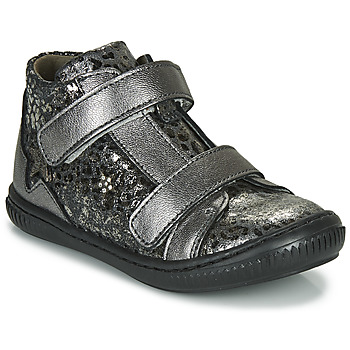 Skor Flickor Höga sneakers Little Mary JACKLYN Silver