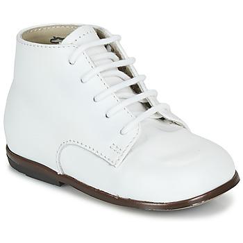 Skor Barn Boots Little Mary QUINQUIN Vit