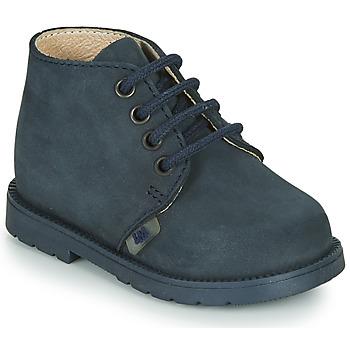 Skor Pojkar Boots Little Mary GINGO Marin