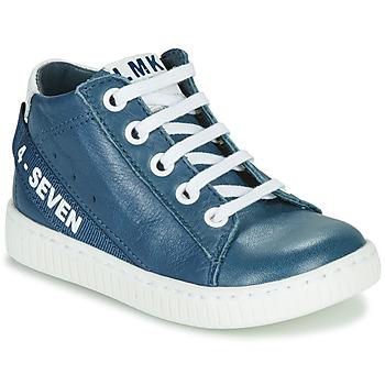 Skor Pojkar Höga sneakers Little Mary LUCKY Blå
