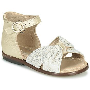 Skor Flickor Sandaler Little Mary DIANA Guldfärgad
