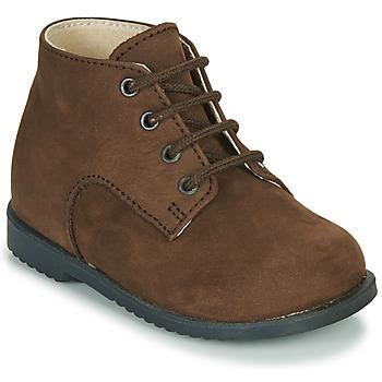 Skor Pojkar Boots Little Mary MILOT Brun