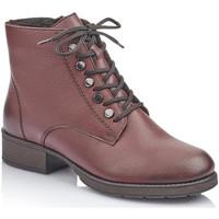 Skor Dam Stövletter Rieker Mason Red Boots Röd