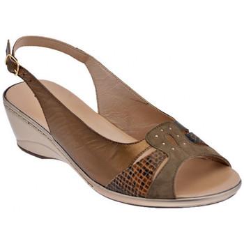 Skor Dam Sandaler Confort  Brun