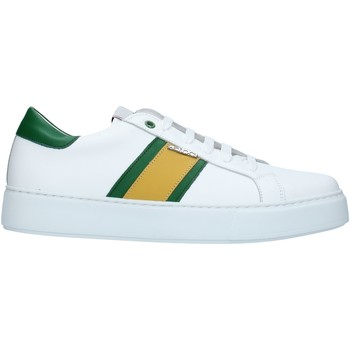 Skor Herr Sneakers Exton 861 White green and yellow
