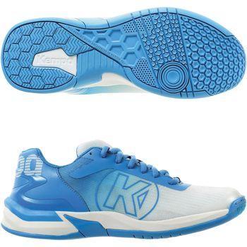 Skor Dam Träningsskor Kempa Chaussures femme  Attack 2.0 blanc/bleu