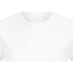 textil Herr T-shirts Casual Classics  Vit
