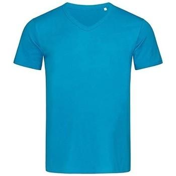 textil Herr T-shirts Stedman Stars  Hawaii Blue
