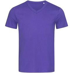 textil Herr T-shirts Stedman Stars  Djupt lila
