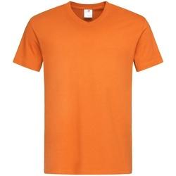 textil Herr T-shirts Stedman  Orange