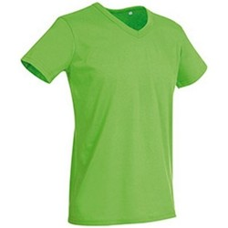 textil Herr T-shirts Stedman Stars  Grön blixt