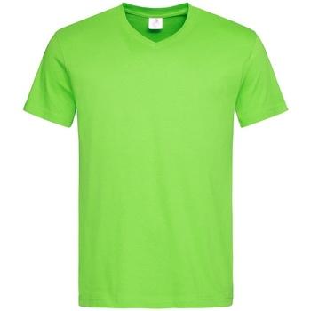 textil Herr T-shirts Stedman  Kiwi grönt