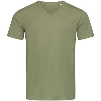 textil Herr T-shirts Stedman Stars  Militärt grönt