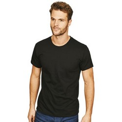 textil Herr T-shirts Casual Classics  Svart