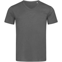 textil Herr T-shirts Stedman Stars  Skiffergrått