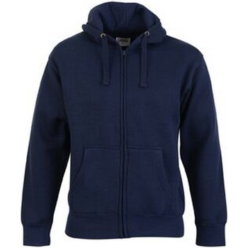 textil Herr Sweatshirts Casual Classics  Marinblått