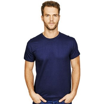 textil Herr T-shirts Casual Classics  Marinblått