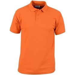 textil Herr Kortärmade pikétröjor Absolute Apparel  Orange