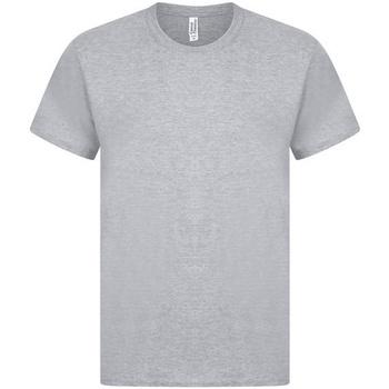 textil Herr T-shirts Casual Classics  Grått