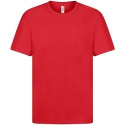 textil Herr T-shirts Casual Classics  Röd