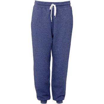 textil Joggingbyxor Bella + Canvas CA3727 Marinblått