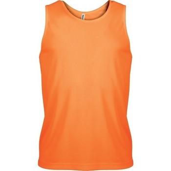 textil Herr Linnen / Ärmlösa T-shirts Proact Débardeur  Sport orange