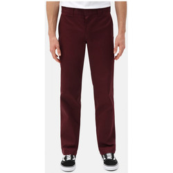 textil Herr Chinos / Carrot jeans Dickies S/stght work pant Bordeaux
