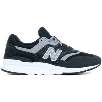 Skor Herr Sneakers New Balance 997 Vit, Svarta, Gråa