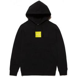 textil Herr Sweatshirts Huf Sweat hood box logo Svart