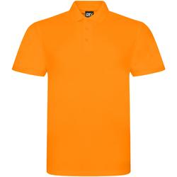textil Herr Kortärmade pikétröjor Prortx RX101 Orange