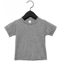 textil Barn T-shirts Canvas CA3413T Grå triblend