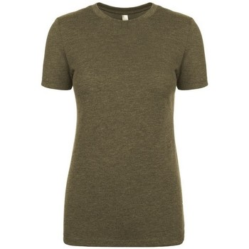 textil Dam T-shirts Next Level NX6710 Militärt grönt