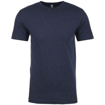 textil Herr T-shirts Next Level NX6210 Marinblått