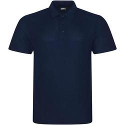 textil Herr Kortärmade pikétröjor Prortx RX101 Marinblått